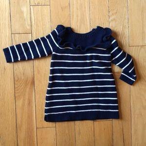 6-12 month girls GAP sweater dress